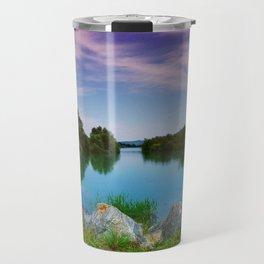 Lake in France Travel Mug