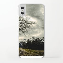 Against the Wind Clear iPhone Case