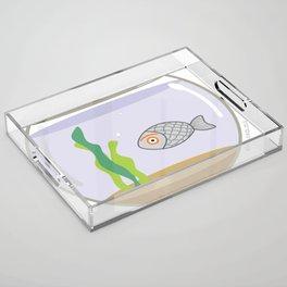 fish eye Acrylic Tray