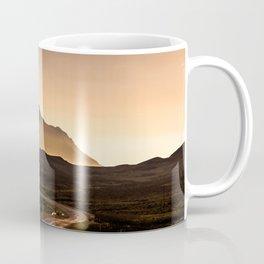 Sunset Mountain Road Coffee Mug