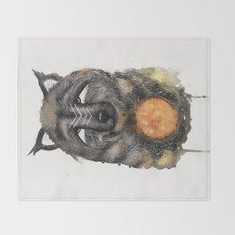 Copernicus the Sun Bear. Throw Blanket