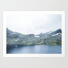Norway landscape#28 Art Print
