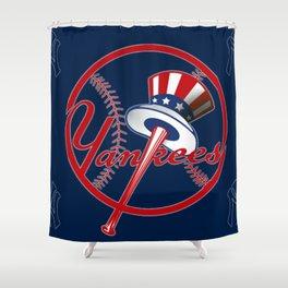 New York Yankee Shower Curtain