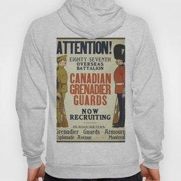 Vintage poster - Canadian Grenadier Guards Hoody