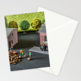 The Little Millers Coffee Corporation Stationery Cards