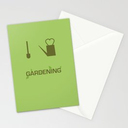 I heart Gardening Stationery Cards