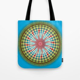 Health Mandala - מנדלה בריאות Tote Bag