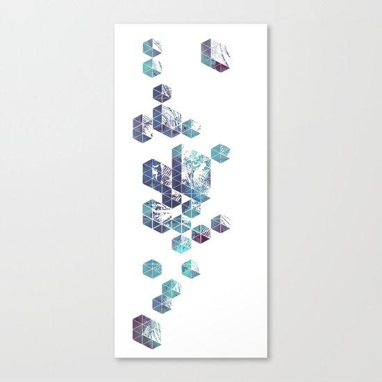 Majestic Collision Canvas Print