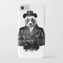 Rorschach Panda iPhone Case