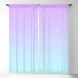 Purple kawaii cute aesthetic Blackout Curtain
