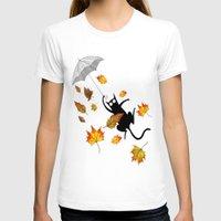umbrella T-shirts featuring Umbrella  by Andrew Hitchen
