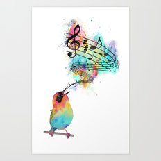 Sing for... Art Print