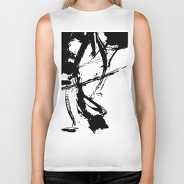 Brushstrokes No.16A by Kathy Morton Stanion Biker Tank