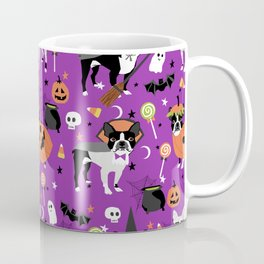 Boston Terrier Halloween - dog, dogs, dog breed, dog costume, cosplay cute dog Coffee Mug