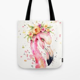Little Flamingo Tote Bag