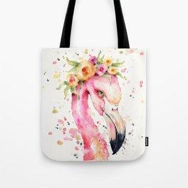 Little Flamingo Tote Bag