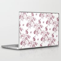 penis Laptop & iPad Skins featuring Penis Pattern RED by Daniel McLaren