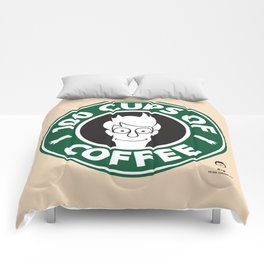 100 Cups of Coffee Comforters