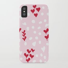 giving hearts gving hope: animal print iPhone Case