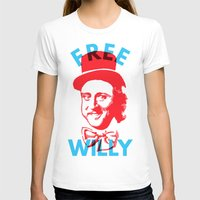 willy wonka T-shirts featuring Free Willy (Wonka) by Tabner's