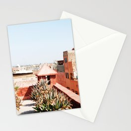 Marrakech rooftops Stationery Cards