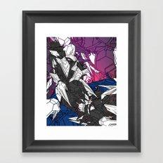ULTRACRASH 7 Framed Art Print