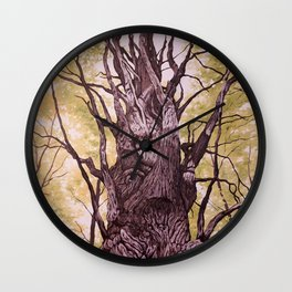 Gatineau Oak Wall Clock