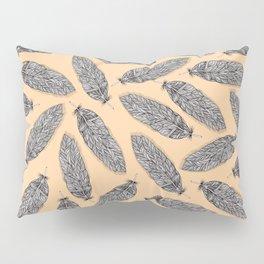 Feather Pattern Pastel Pillow Sham