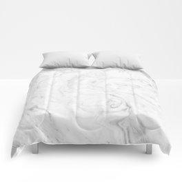 Light grey marble Comforters