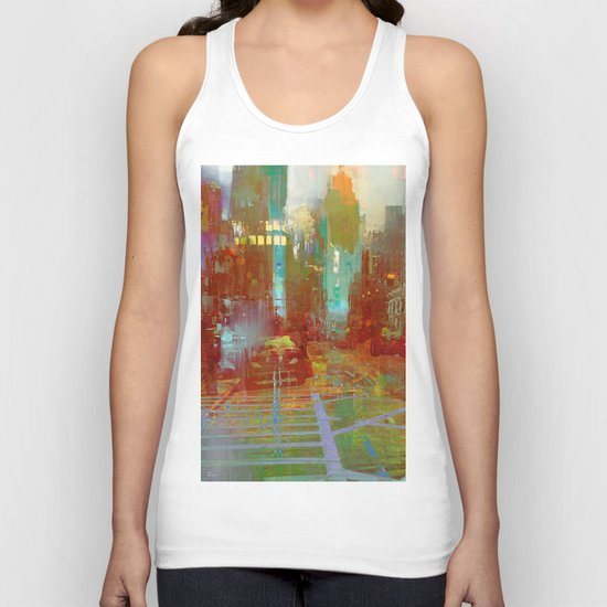 All the streets have your name Unisex Tank Top