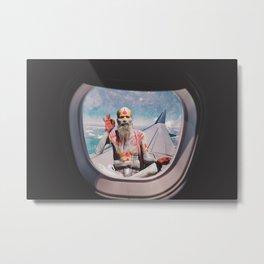 EVERYTHING IS OKAY - YOGI MEDIATION Metal Print