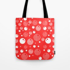 Bubblemagic - Red Tote Bag