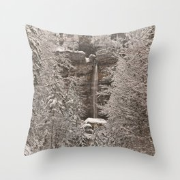Pericnik Falls Throw Pillow