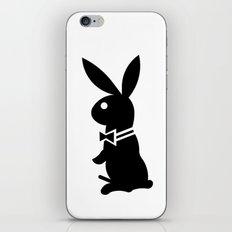 playboy horny rabbit  iPhone & iPod Skin