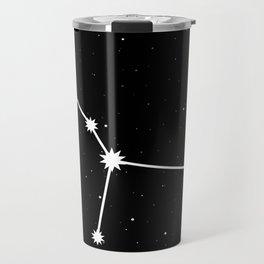 Cancer Star Sign Night Sky Travel Mug