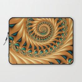 Fractal Splendor, Modern 3D Art Laptop Sleeve