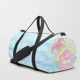 Beach Shack Vibes Duffle Bag