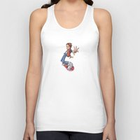 marty mcfly Tank Tops featuring Marty by Havard Glenne