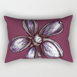 """Bound up by Bandages"" Flowerkid Rectangular Pillow"