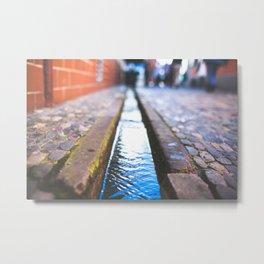 Freiburg Water  Metal Print