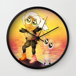 Free Elves Wall Clock