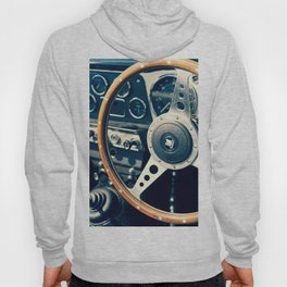 Old Triumph Wheel / Classic Cars Photography Hoody