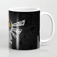 zelda Mugs featuring Zelda Hyrule by Art & Be