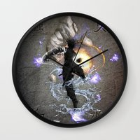 avatar Wall Clocks featuring The Avatar by Toronto Sol