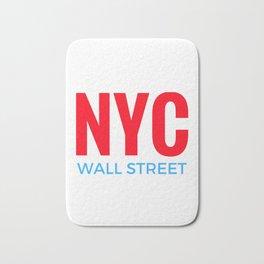 NYC Wall Street Bath Mat