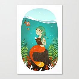 histoire d'eau Canvas Print