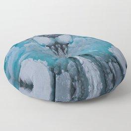 Glacial Face Floor Pillow