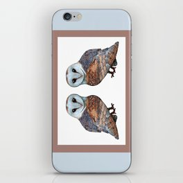The Owl Collection - Barn Owl iPhone Skin