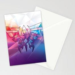 Zelda Triforce colorful Diamond Stationery Cards