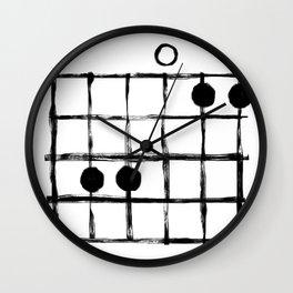 Csus Chord Wall Clock